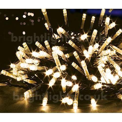 10M 100 LED String Fairy Lights in Warm White - Gardens, Outdoor Lighting, Christmas, etc ...