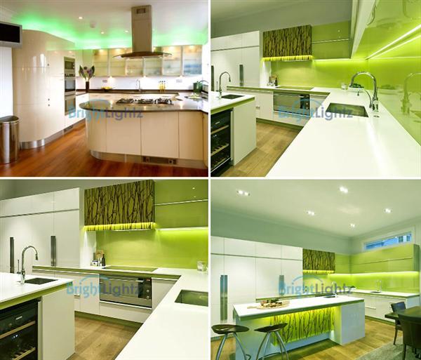 Led Strip Lighting Kitchen Ideas: Green LED Strip Light Kit (2 X 50cm)