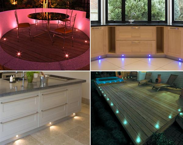 Set of 10 rgb colour changing led deck lights decking plinth set of 10 rgb colour changing led deck lights decking plinth kitchen lighting set mozeypictures Image collections