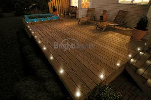 Led deck lights decking plinth kitchen lighting set warm white