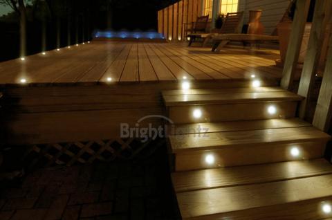Set of 10 led deck lights decking plinth kitchen lighting set 2999 inc vat aloadofball Gallery
