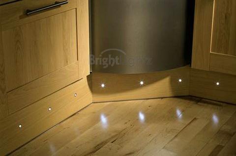 set of 10 led deck lights decking plinth kitchen. Black Bedroom Furniture Sets. Home Design Ideas