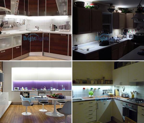 Cool White Led Strip Light Kit 2 X 50cm Kitchen Lighting Plasma Tv Etc