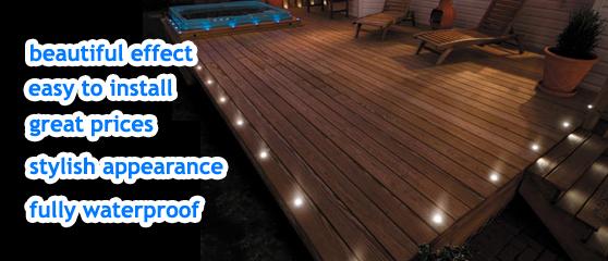decking lights outdoor led plinth lighting bright lightz