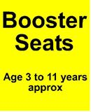Booster Seats Recaro Milano - Monza NOVA & Seatfix- Click here to view all from 3yrs......
