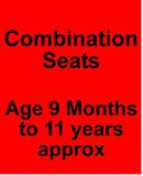 Recaro Young Sport - Click here to view all Combination Seats from 9mths to 11yrs..........