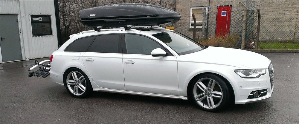 2014 Audi A6 Avant   Thule WingBars   Motion 900   927 Carrier