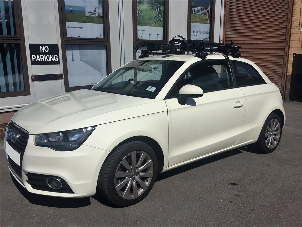 2016 Audi A1 Thule Roof Bars And 598 Prorides
