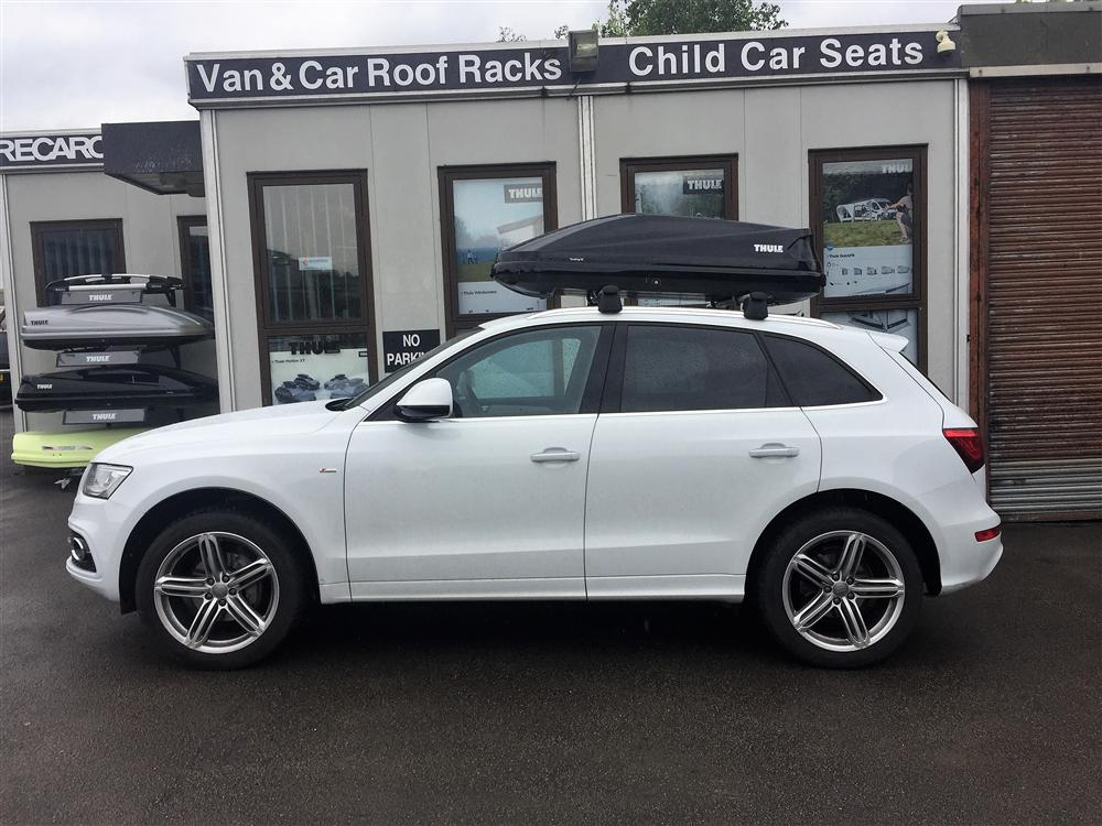 thule roof box audi q5 aurora roofing contractors. Black Bedroom Furniture Sets. Home Design Ideas
